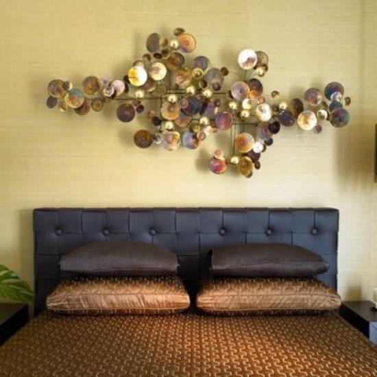 Artisan House wanddecoratie Raindrops koper