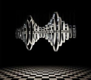 Ilfari hanglamp Crystal hearts